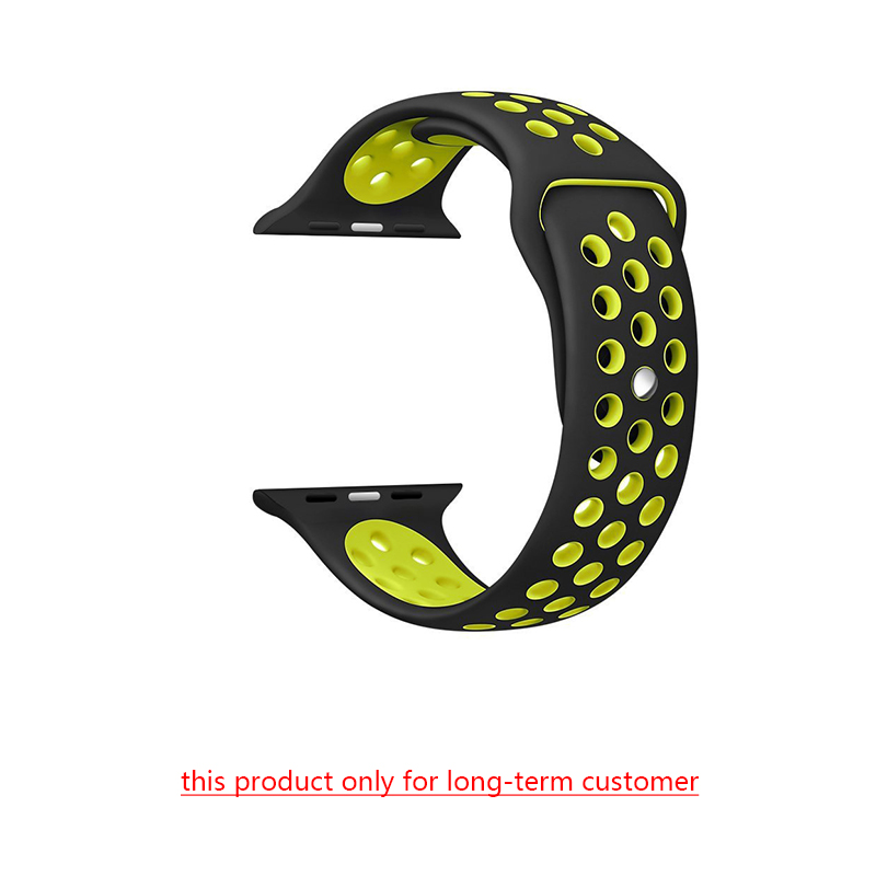42 44 Mm Watch Band Rubber Silicone Colorful Wrist Strap For Apple Watch Band Sports Bracelet 38/40mm For Iwatch Series 5&4&3&2