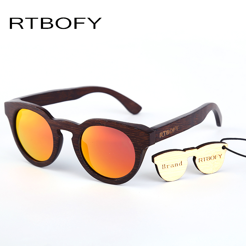 af5aa66349b6a RTBOFY 2017 Rays Designer Wood Sunglasses Unisex Wood UV400 Sun Glasses For  Women gafas Polarized sunglasses .ZB05