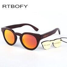 RTBOFY 2017 Rays Designer Wood Sunglasses Unisex Wood UV400 Sun Glasses For Women gafas Polarized sunglasses .ZB05