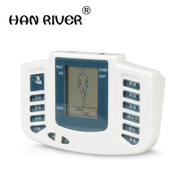 JR 309 Electrical Stimulator Full Body Relax Muscle Massager Pulse Tens Acupuncture Therapy Slipper 6 Electrode