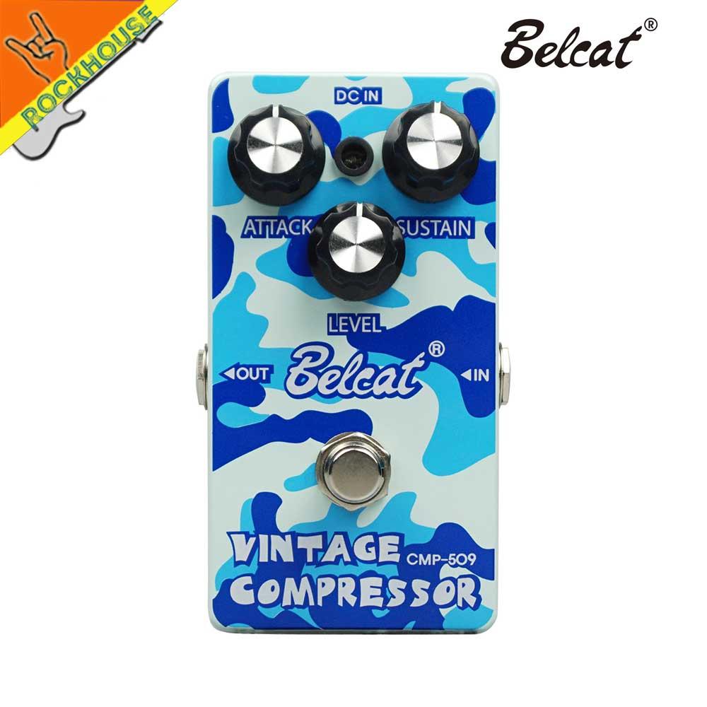 Belcat Guitar Compressor Effects Pedal Balance Dynamic output Ensure Proper Performance Constant output signal True Bypass