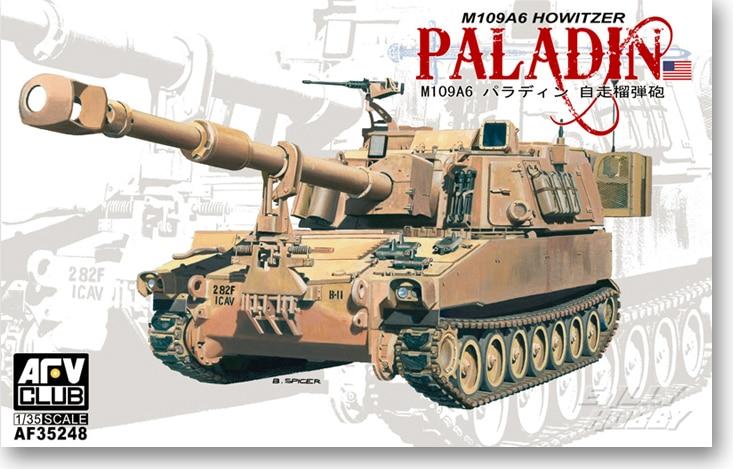 """1/35 M109A6 instrukcji obsługi Paladin """"z własnym napędem AF 35248 w Zestawy modelarskie od Zabawki i hobby na  Grupa 1"""