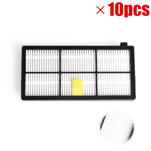 10PCS Hepa Filter For iRobot Roomba 800 900 Series 870 880 980 Filters Vacuum Robots Replacements Cleaner Parts Accessory стоимость
