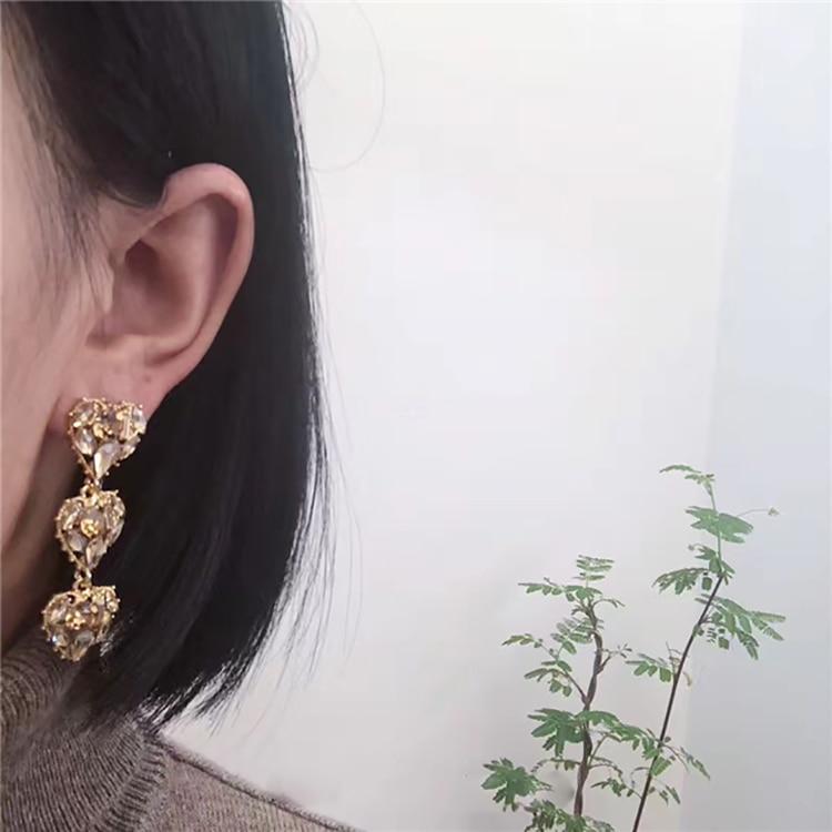 Женские Висячие серьги mengjiqiao новые корейские Винтажные