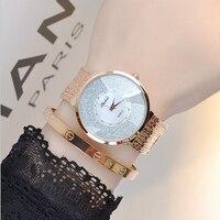 2016 Latest Style Women Watch Luxury Fashion Crystal Tassel Women Bracelet Watch Female Dress Watch Ladies