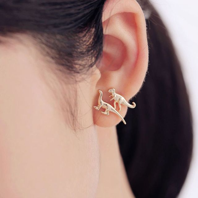 3 Pairs New Fashion Stud Earrings Vogue Diffe Dinosaur Set High Quality Women S Vintage Earring Hot Ing Gift