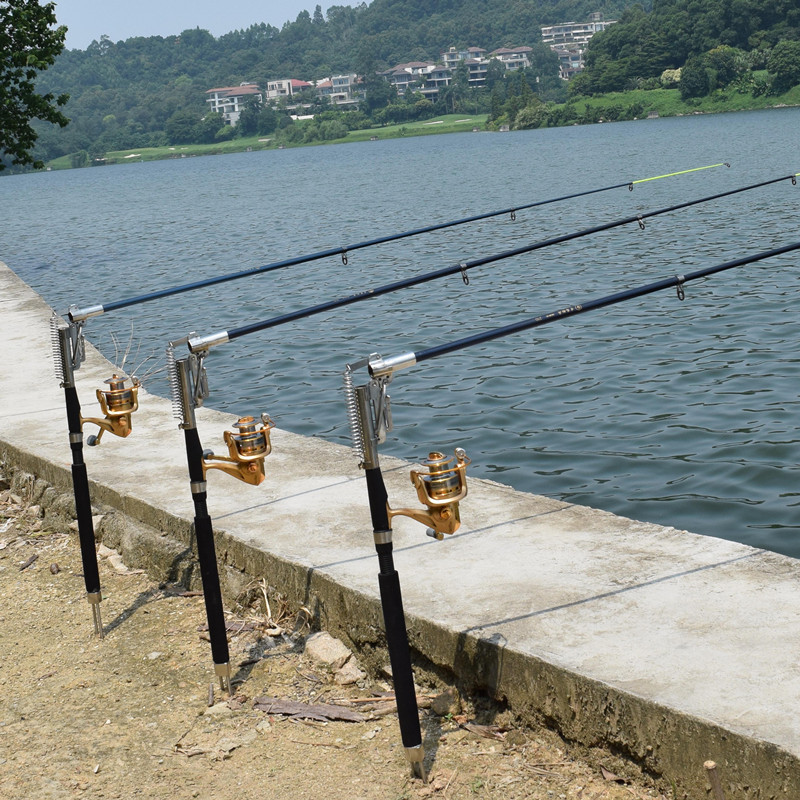 2.1 m 2.4 m 2.7 m 3.0 m Telescópica caña de Pescar Automática (Sin Carrete) Con