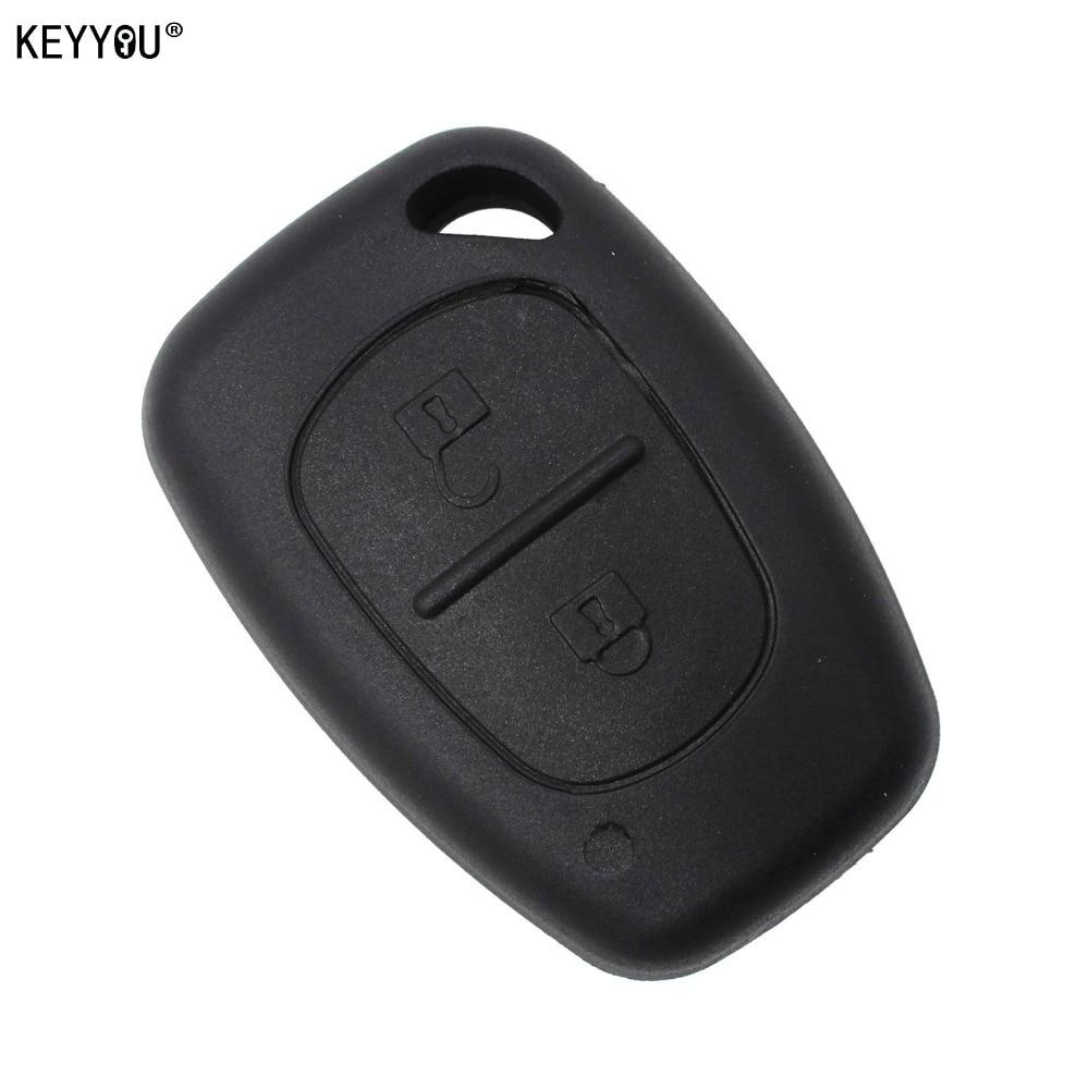 KEYYOU Remote Key Case 2 Button For Renault Opel Vauxhall for Nissan Vivaro Traffic Primastar цена и фото