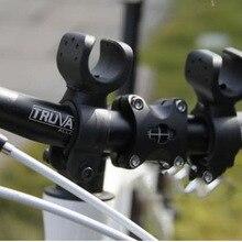 360 Поворотный Светодиодный светильник для велосипеда, кронштейн для крепления, фонарь для вспышки, держатель, передний светильник, зажим для фонаря, Аксессуары для велосипеда