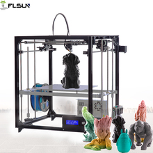 2109 FLSUN Large Printing Area Cube 3d printer 260 260 350mm Large size Auto leveling 3D