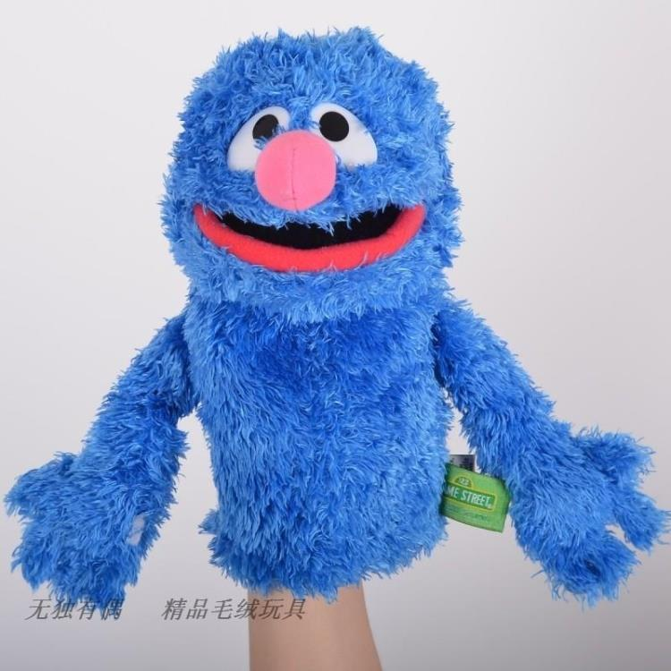 plush toy stuffed doll Sesame Street hand puppet elmo cookie monster grover bedtime story model baby christmas birthday gift 1pc wiben animal hand puppet action