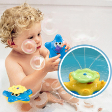 Cikoo Electric Bathing Water Spraying Stelleroid Tool For Children Kids Bathroom Funny Water Stelleroid Great Toys