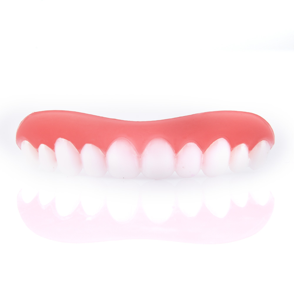 2018 new Natural Oral Hygiene Silicone False Dental Instant Secure Veneers Beauty Tooth Teeth Whitening Bleaching ...