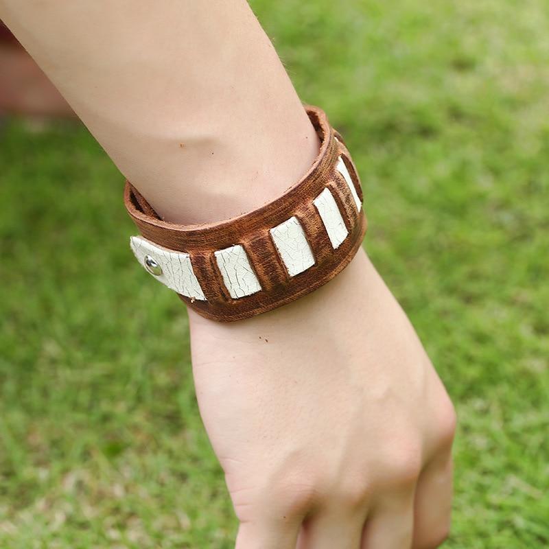 Retro Bracelet men Genuine 5