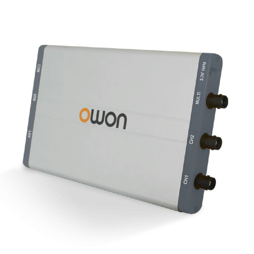OWON VDS3104 Series PC oscilloscope Up to 100MHz bandwidth, and max 1GS/s real-time sample rate - 10M record length цена
