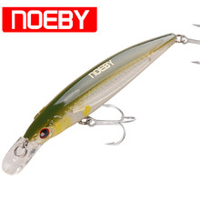 NOEBY Minnow Bait 12cm 22g Floating 0-1.2m VMC Hook Isca Artificial Hard Bait Leurre Peche Mer Carp Fishing Wobblers Tackle