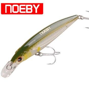 NOEBY Minnow Przynęty 12 cm 22g Pływające 0-1.2 m VMC Hook Isca Sztuczne Przynęty Twarde Leurre Peche mer Carp Fishing Wobblers Tackle