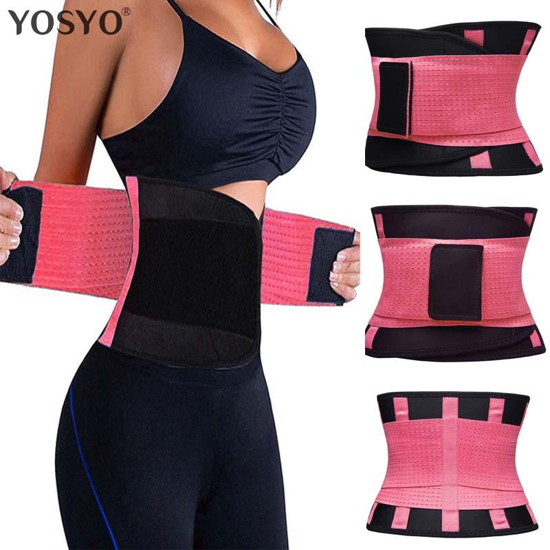 5507a83de0 Shaper Slim Belt Neoprene Waist Cincher Faja Waist Shaper Corset Waist  Trainer Belt Modeling Strap Waist