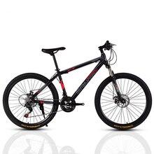 26-Inch mountain bike Variable speed dual disc brakes high carbon steel bicycles sport men women bicicleta