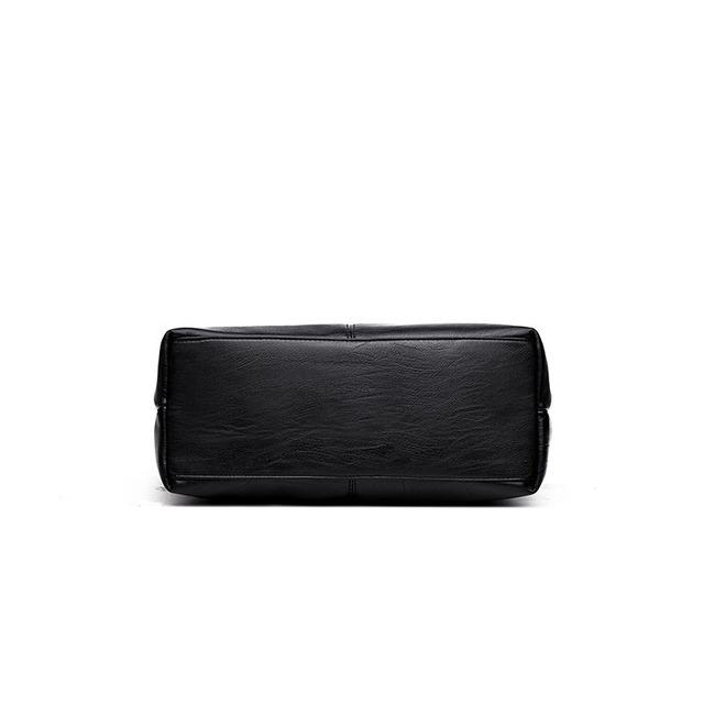 2018Women Handbag Leather Women Shoulder Bags 2 set Famous Brand Designer Women Bags Ladies Casual Tote Bags sac a main