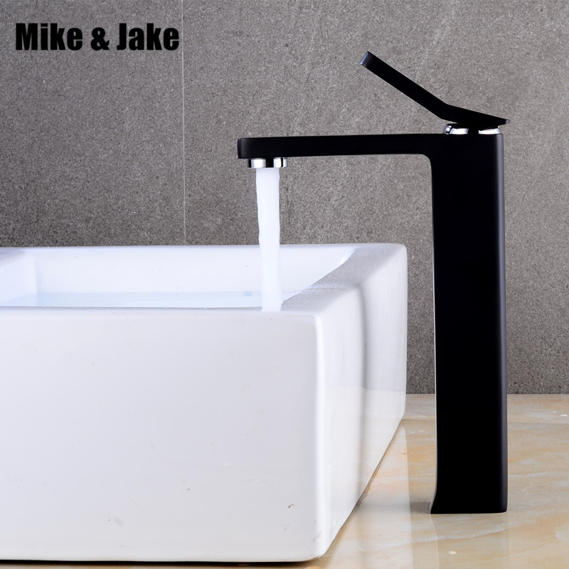 Bathroom black faucet Crane stand basin mixer water tap bathroom faucet water faucet bathroom sink cold and hot mixer MJ7115 gappo water tap bathroom deck mount basin sink faucet torneira cold hot water mixer tap grifo bathroom faucet in hand shower set