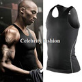 #1001 Summer Men Boys Sports Gym Running Basketball Boxing Vest Thermal Undershirt Skins Cool Tees Tank Top 7 Colors Size S-3XL