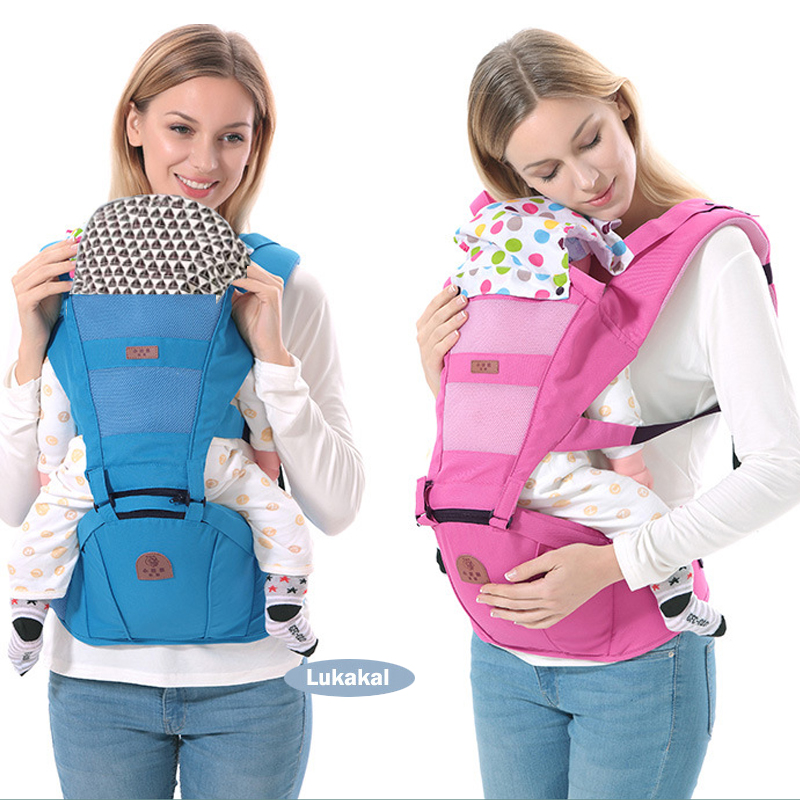 Ergonomic Baby Carrier BackPack Multifunctional 3 In 1 Baby Sling Breathable Hooded Kangaroo For 1 To 36M Infant Baby BackPack gabesy baby carrier ergonomic carrier backpack hipseat