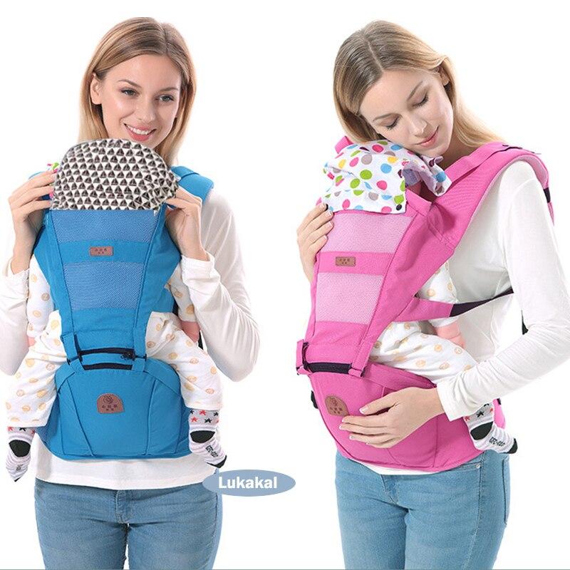 Ergonomic Baby Carrier BackPack Multifunctional 3 In 1 Baby Sling Breathable Hooded Kangaroo For 1 To 36M Infant Baby BackPackErgonomic Baby Carrier BackPack Multifunctional 3 In 1 Baby Sling Breathable Hooded Kangaroo For 1 To 36M Infant Baby BackPack