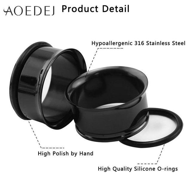 Купить пробки и тоннели aoedej 3 25 мм из нержавеющей стали измерительные