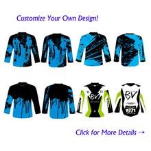 Personnalisé Sublimation Impression Hommes Femmes Descente DH Jersey Personnalisé VTT Vtt Motocross Moto BMX Maillots No minimum