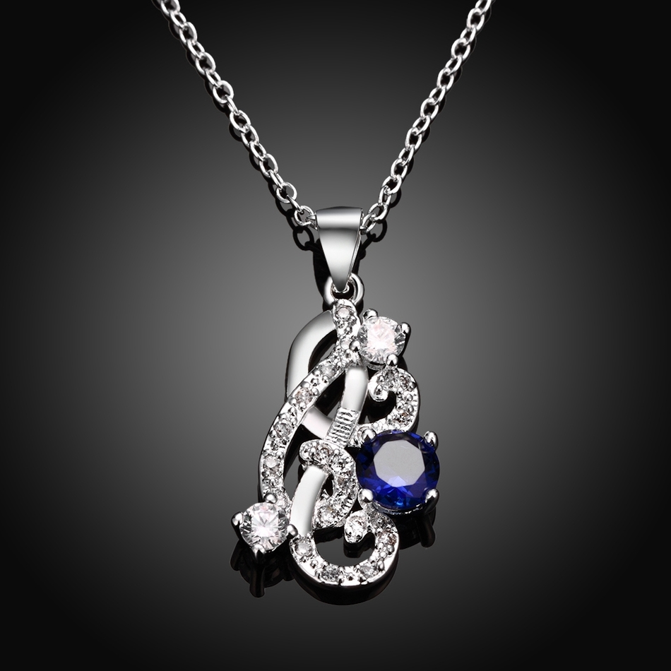 c87a12b683 Romântico branco banhado a prata colar de Pingente de charme jóias de  casamento das mulheres chocker colar feminino LJ0185 collier atacado