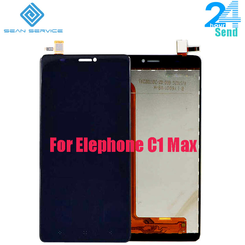 For Original Elephone C1 Max LCD Display Screen+Touch Screen Digitizer Assembly Replacement 6.0 inch in StockFor Original Elephone C1 Max LCD Display Screen+Touch Screen Digitizer Assembly Replacement 6.0 inch in Stock
