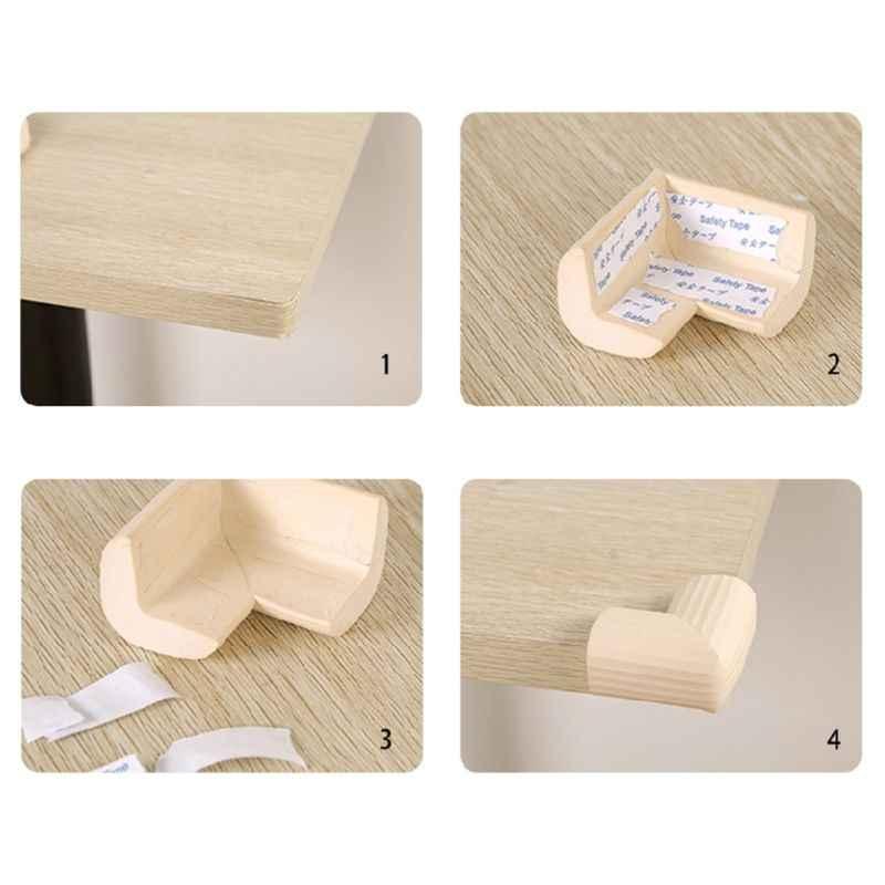 Предохранительный уголок детская губка NBR защита кромок детский стол Защита Настольная Подушка мебель мягкая защита от столкновений