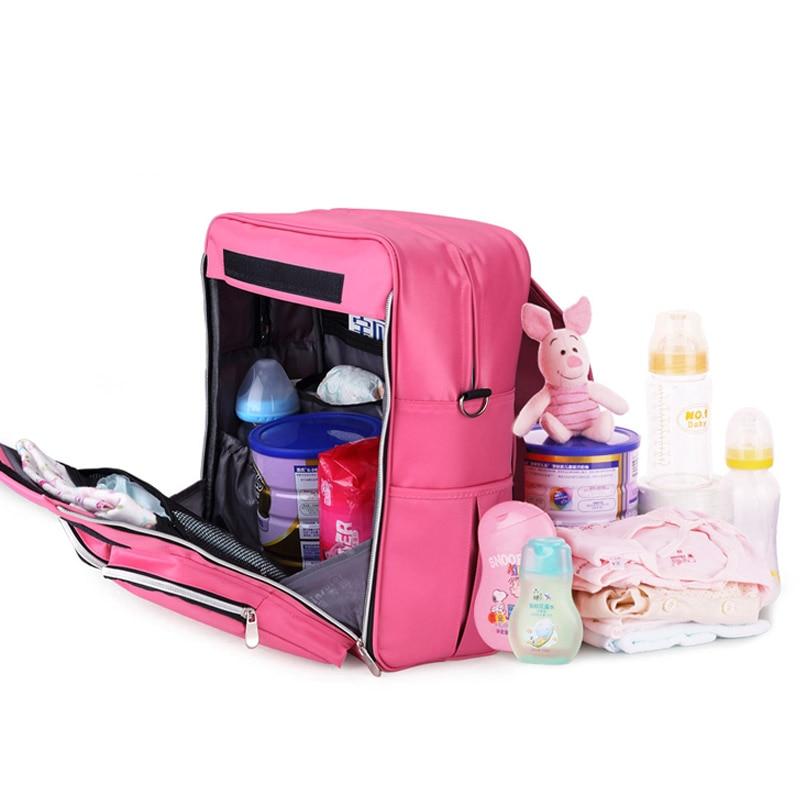 New Year Fashion Mommy Backpack Diaper Bags Multi-functional Maternity Bag Pregnant Women Backpack Nursing Bag Baby Diaper Bag