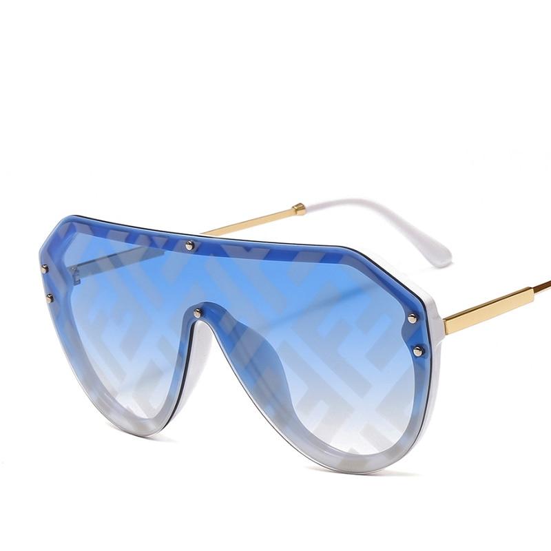2019 New F Watermark One-piece Sunglasses PC Copy Film Men Women Sunglasses Girls Personality Colorful Fashion Wild Sun Glasse (31)