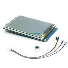 "Nextion 3.2 ""TFT 400X240 resistive מגע מסך תצוגת HMI LCD תצוגת מודול TFT לוח מגע TFT פטל pi"