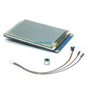 "Image 1 - Nextion 3.2 ""TFT 400X240 resistive מגע מסך תצוגת HMI LCD תצוגת מודול TFT לוח מגע TFT פטל pi"