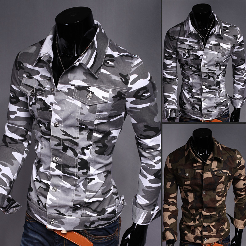 Military Camouflage Jackets Mens Army Camouflage Jacket men Clothing Chaqueta Hombre