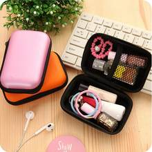 Mini Zipper Headset bag Mobile phone data cable charger storage box fingertip gyro packaging box data cable storage box @16(China)