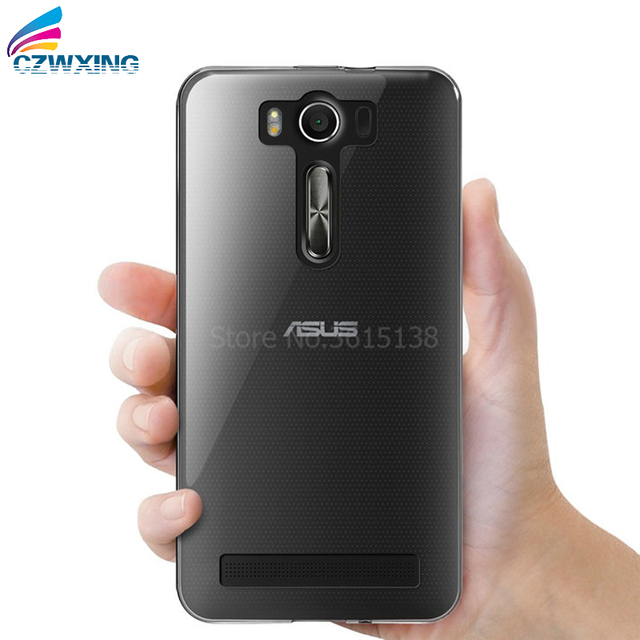 big sale 08d4b 7d6c8 US $1.7 5% OFF|For Asus Zenfone 2 Laser ZE550KL Case Soft Silicone Back  Cover Phone Case For Asus ZE550KL ZE551KL ZE 550KL Z00LD Z00TD 5.5 inch-in  ...