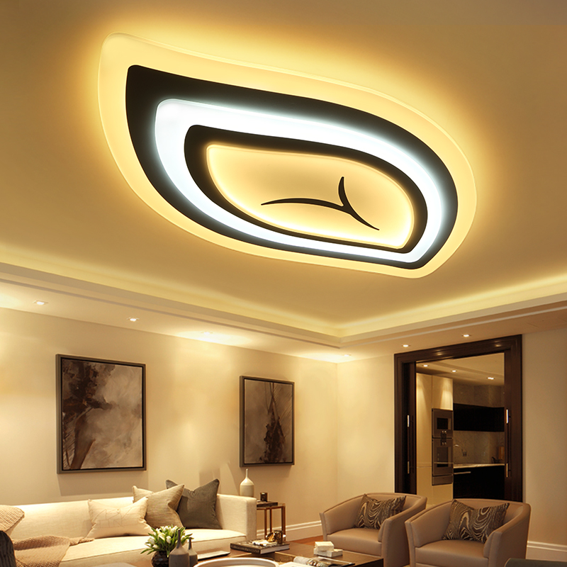 Bedroom Living room Ceiling Lights Lamp Modern lustre de plafond moderne Dimming Acrylic Modern LED Ceiling