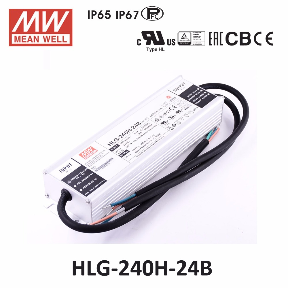 HLG240H24 NEW IN BOX MEAN WELL HLG-240H-24