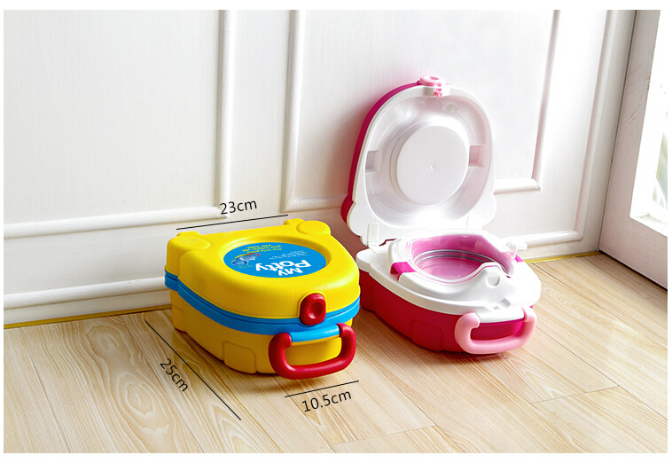 Children portable toilet yellow and red Novelty Travel Potty Chair Eco friendly Baby Potty Seat And Comfortable Portable Toilet-in Potties from Mother ...  sc 1 st  AliExpress.com & Children portable toilet yellow and red Novelty Travel Potty Chair ...