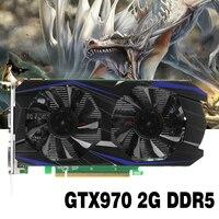 GTX970 2G Video Storage DDR5 Desktop PC Graphics Card For ETH Miner BITCONIN MINER MOTHERBOARD For