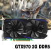 GTX970 2G Video Storage DDR5 Desktop PC Graphics Card For ETH Miner BITCONIN MINER MOTHERBOARD For