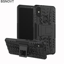For Cover Xiaomi Mi A2 Case Soft TPU +Hard Plastic Bumper Anti-knock Cover For Xiaomi Mi 6X Case For Xiaomi Mi A2 / Mi 6X Funda защитное стекло xiaomi mi 6x mi a2 черный