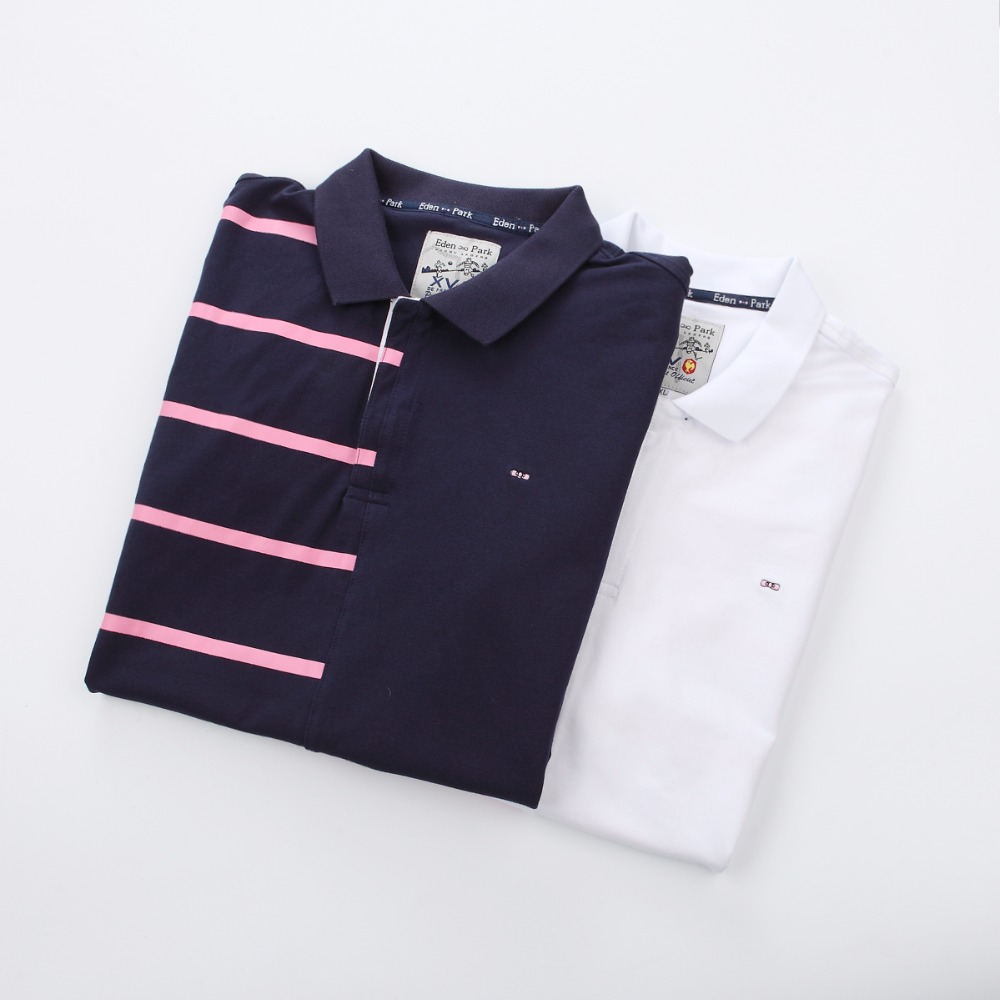Cotton New 2019 High quality crocodil logo   Polo   brand Men   Polo   Shirt Men Business Casual pink Stripe Short Sleeve   polos   M-3XL