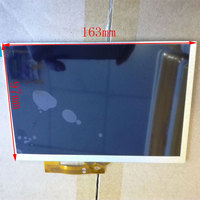 A 30PIN 163X97mm LCD Display Matrix For 7 Oysters T72HM 3G TABLET Inner LCD Display 1024x600