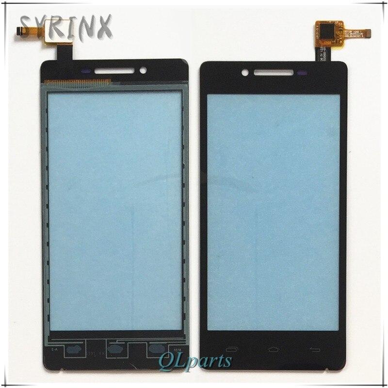 Syrinx + 3 M Bande Tactile Panneau Avant En Verre Capteur Pour Prestigio MultiPhone PAP5450 PAP 5450 DUO Écran Tactile Digitizer écran tactile