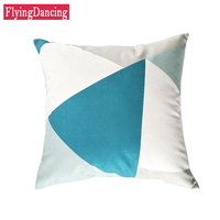 Nordic Simple Geometric Cushions Cover Short Plush Throw Pillows With Inner For Sofa Seat Chair Bedding